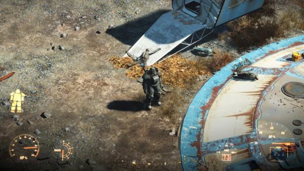 Fallout 4 превратили в изометрическую РПГ (в духе первых частей)
