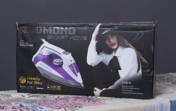 Redmond SkyIron C250S – первый в мире интернет-утюг, выключаемый со смартфона