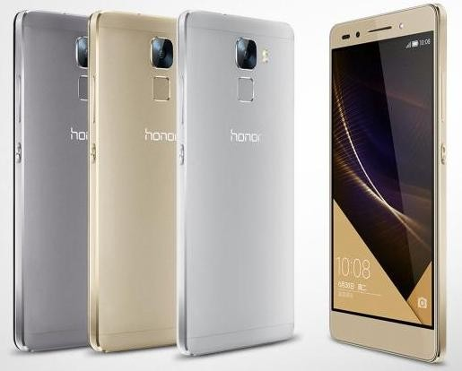Huawei представила Honor 7 Enhanced Edition под управлением Android Marshmallow