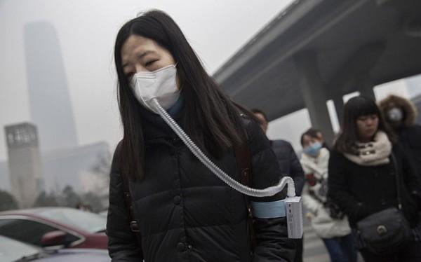 Жители Пекина покупают свежий воздух в Канаде