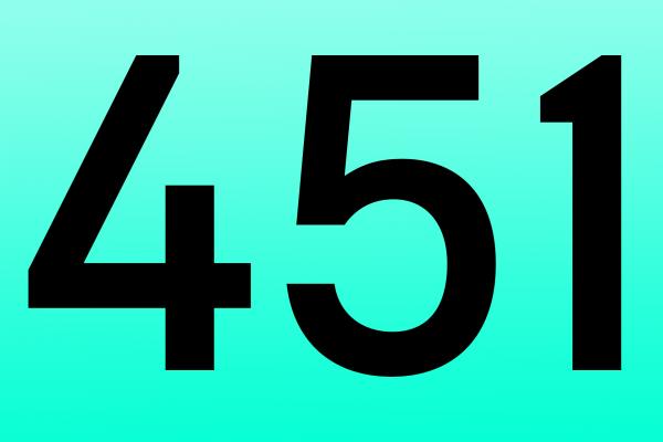 Скоро в сети появится ошибка 451