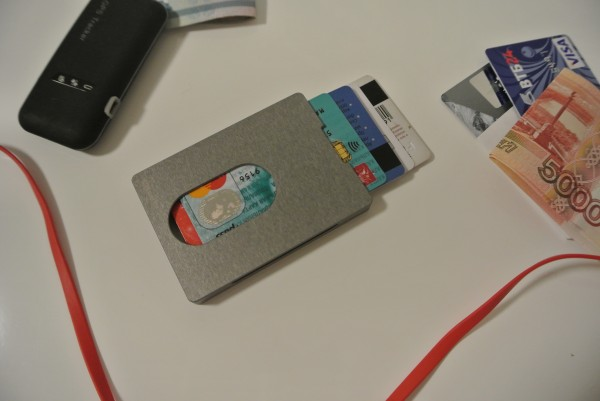 MyWallet – современный кардхолдер, который не оттянет вам карман