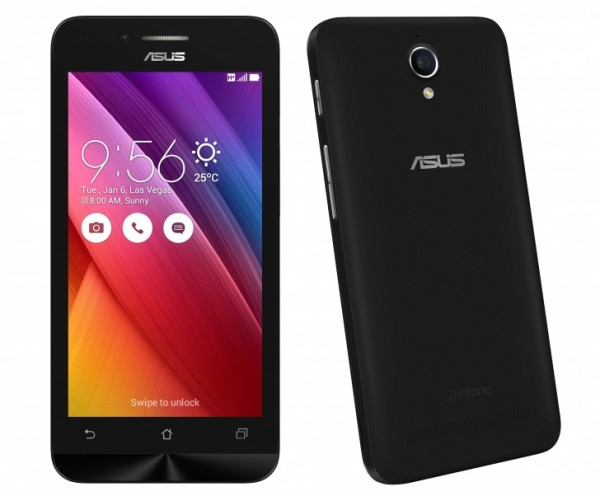 ZenFone Go 4.5 — недорогой смартфон от ASUS