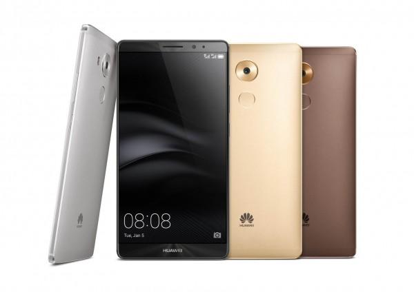 Huawei представила на выставке CES 2016 фаблет Mate 8
