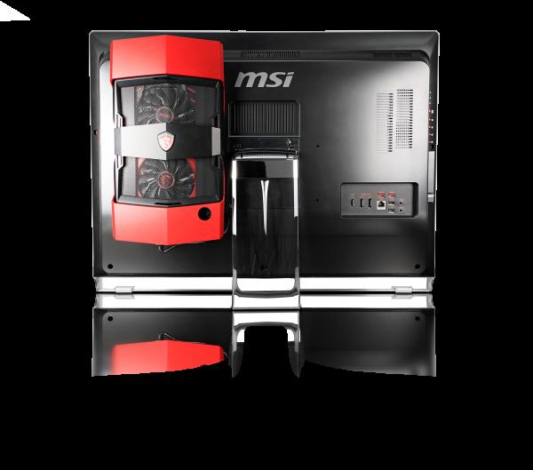 MSI Gaming 27XT — игровой моноблок с внешней видеокартой