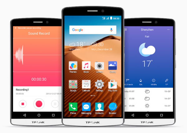 TP-LINK представила 3 новых смартфона