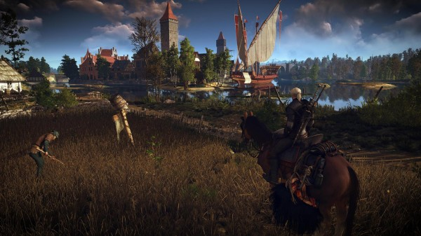 ���������� ������ ���� The Witcher 3 �� ����������