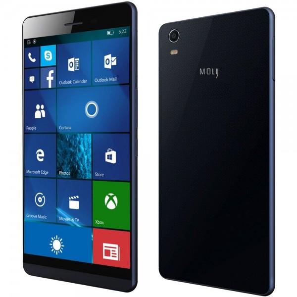 Coship Moly X — самый тонкий телефон на базе Windows 10 Mobile