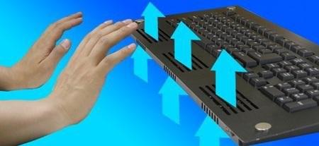 Клавиатура с вентилятором от Thanko