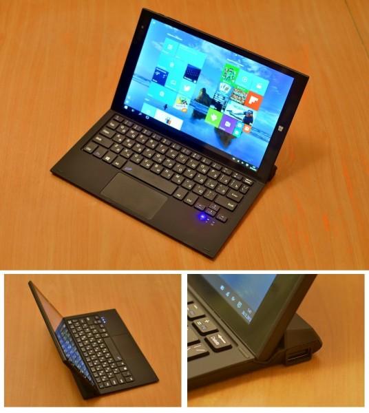 DEXP Ursus KX210i: гибридный планшет с Windows 10