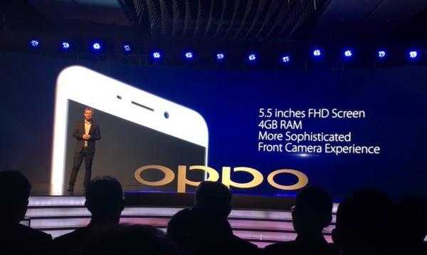 Oppo представила еще один смартфон — F1 Plus