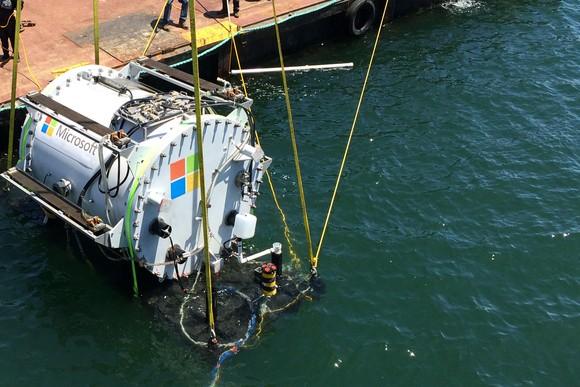 Project Natick: подводные дата-центры от Microsoft