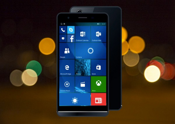Funker W5.5 Pro � ��������� ������ �� ���� Windows 10 Mobile