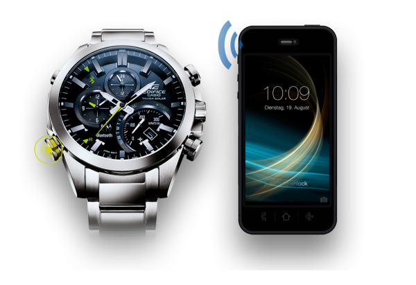 Часы Casio Edifice EQB-500: умная классика