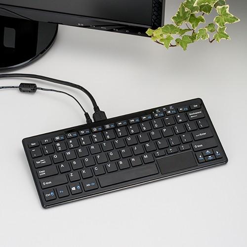 TekWind Keyboard PC WP004 — компьютер в клавиатуре