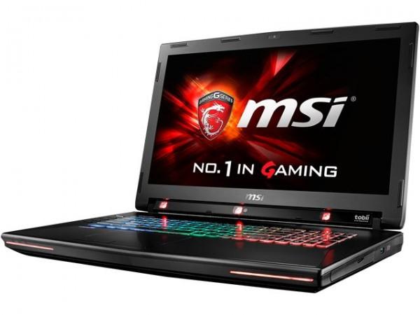 MSI GT72S G Tobii — игровой ноутбук, управляемый взглядом