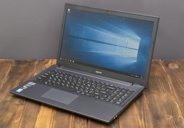 Ноутбук DEXP Achilles G115: +100 к силе