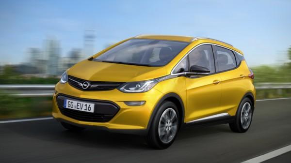 Ampera-e: электрический хэтчбек от Opel