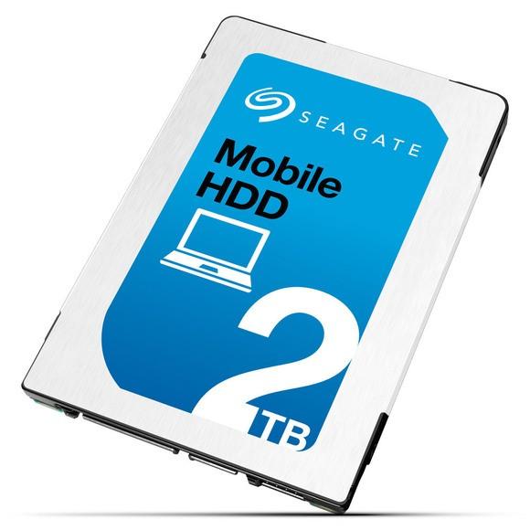 Seagate Mobile HDD: 2,5-дюймовый жесткий диск толщиной 7 мм