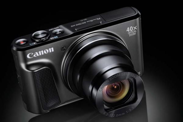 Canon PowerShot SX720 HS — компактная камера с суперзумом