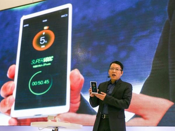 Super VOOC — самая быстрая зарядка для смартфонов