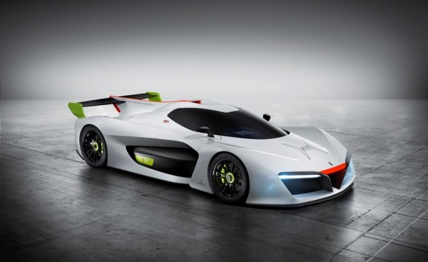 Pininfarina H2 Speed — спорткар на топливых элементах