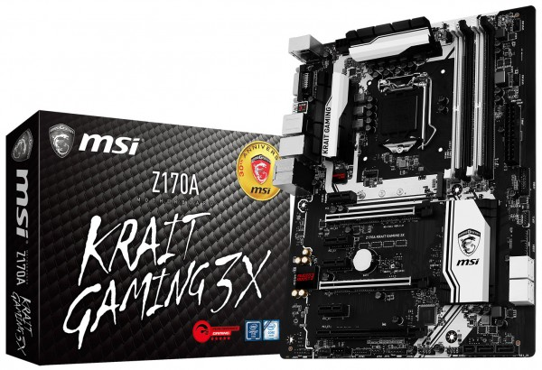 Z170A KRAIT Gaming 3X � ����������� ��������� ����� MSI