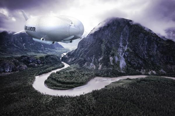 В небо поднялся самый большой в мире аэростат