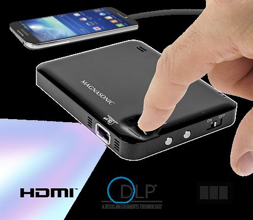 Magnasonic представила самый маленький DLP-проектор на рынке