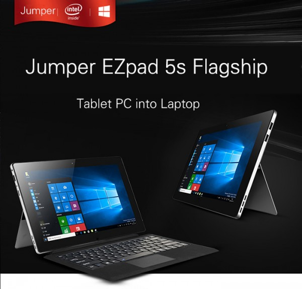 Jumper EZpad 5s — доступный аналог Microsoft Surface