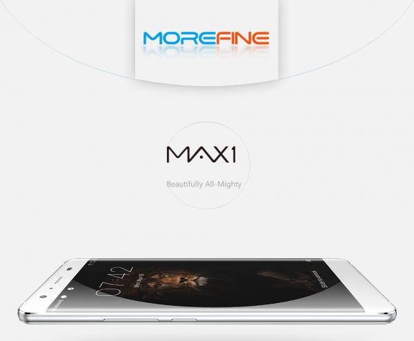 Morefine Max 1 — недорогой смартфон из стекла и металла