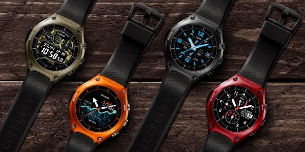 Casio WSD-F10: часы с защитой по военным стандартам