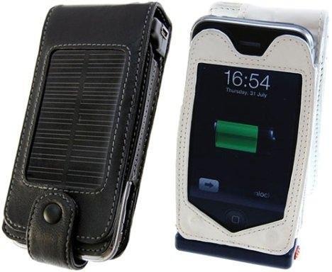 Чехол для iPhone 3G, оснащенный солнечными батареями