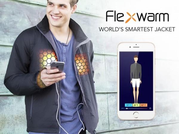Flexwarm — умная куртка с подогревом