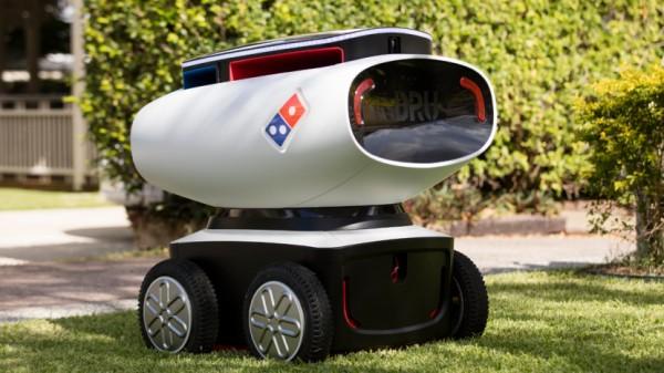 DRU — робот, доставляющий пиццу