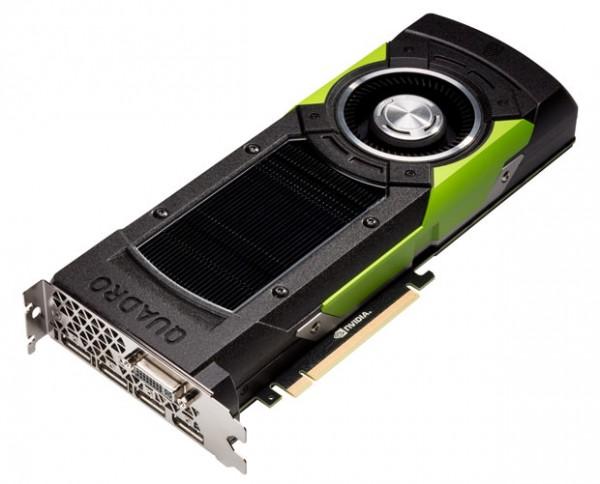 NVIDIA Quadro M6000 — ускоритель графики с 24 ГБ памяти GDDR5