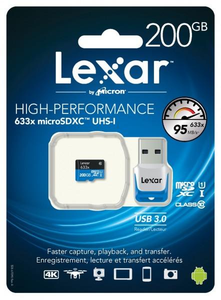 633x microSDXC UHS-I: быстрая и емкая флеш-карта от Lexar