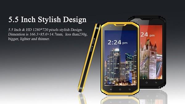 VPhone X3: 5,5-дюймовый смартфон со степенью защиты IP68