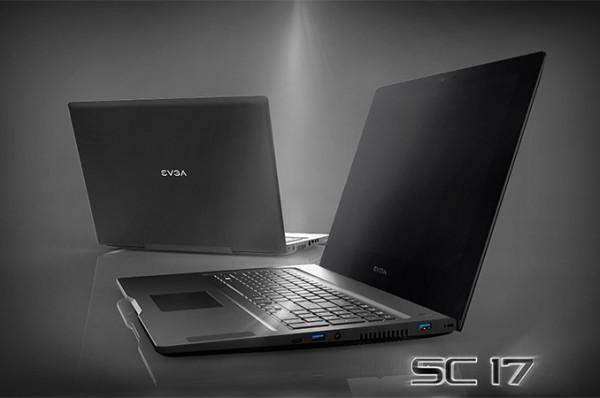 Рассекречены характеристики ноутбука EVGA SC17 Gaming