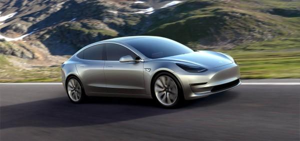 Model 3 — самый доступный электромобиль Tesla