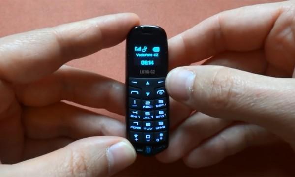 Long-CZ J8: крошечный сотовый телефон