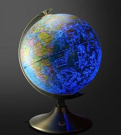 Звёздно-земной глобус