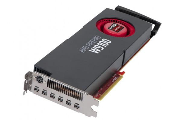 AMD FirePro W9100 — видеокарта с 32 ГБ памяти