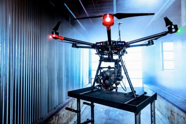 DJI Matrice 600 — дрон для тех, кто хочет снимать кино