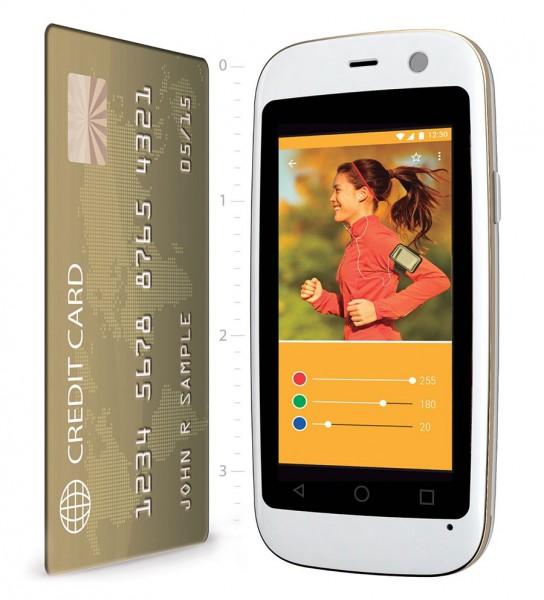 Micro X S240: смартфон размером с кредитную карту
