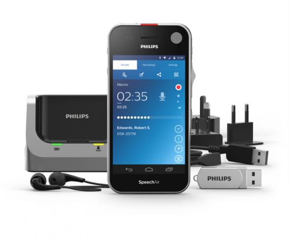 Philips SpeechAir — диктофон с Android на борту