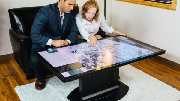 Ideum представила умный кофейный столик с разрешением 4K