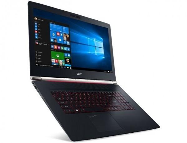 Acer Aspire Nitro Black V17 — мощный ноутбук с картой GeForce GTX 960M