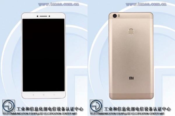 Гигантский смартфон Xiaomi Mi Max «засветился» в TENAA