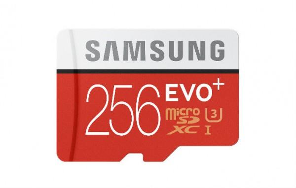 Samsung выпустила карты памяти Evo Plus объемом 256 ГБ